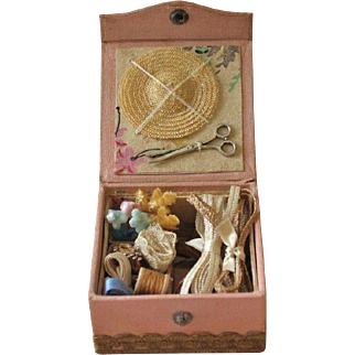 French Fashion Doll Accessory ~ Artist Made ~ Millinery Presentation Box
