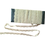 Vintage Lace Trim ~ Narrow ~ Dolls