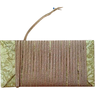Vintage Millinery Straw ~ Narrow Taupe Beige ~ Small Doll Hats