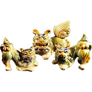 Chinese Oriental Foo Dogs Lions