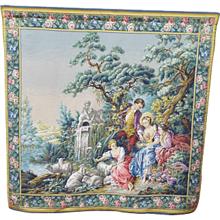 Tapestries from Belgium Hand Woven   circa:  1940's