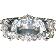 Antique Sterling Silver Bowl Circa:  early 1900's