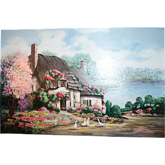 """Earlene Moses Limited Edition Serigraph """"Sussex I"""""""