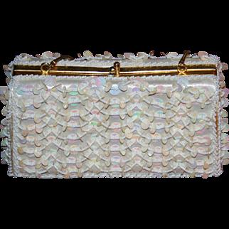 Exquisite vintage beaded purse/handbag 1940's to 60's