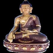 Gilded Bronze Medicine Buddha Statue
