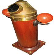 Negus New York Early 20th Century Maritime Compass Binnacle