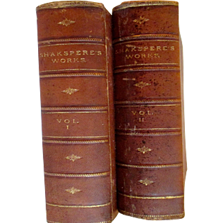 WORKS OF SHAKSPERE. Edited by Charles Knight. NY: Virtue and Yorston. 1870.