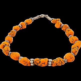 Syria Jewellery - Magnesite Necklace from Palmyra region