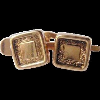 Antique 19th Century 14K Gold Cufflinks