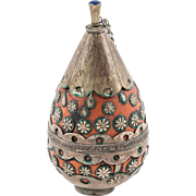 Rare Old Afghan Perfume Bottle