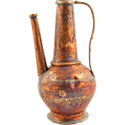 Syria 19th/20th century Ewer, Water Vessel from Countryside
