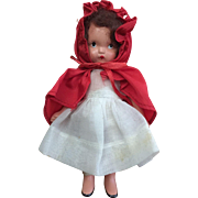 Nancy Ann Storybook Doll #116 Little Red Riding Hood