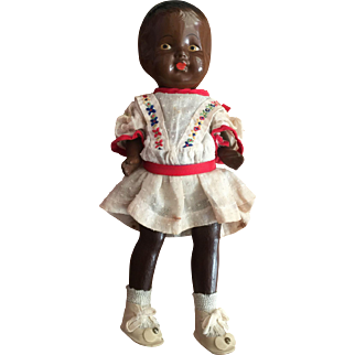 Adorable African-American Patsy-Type Doll