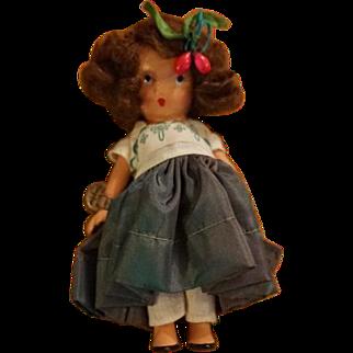 Nancy Ann Storybook Doll, No. 129: Annie at the Garden Gate
