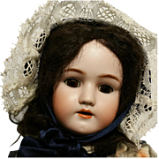 "24"" Antique German Doll Simon Halbig Heinrich Handwerck marked on head number 4"