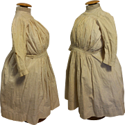 Antique Original Dress for French Doll, Jumeau,Steiner and Bru late 1800