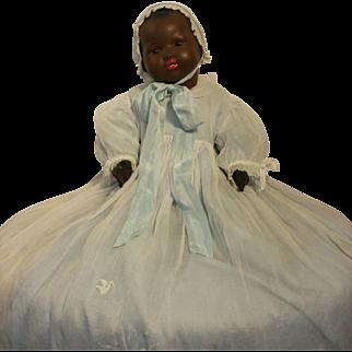 "22,5 "" ( 57 cm ) Rare Black Mulatte Armand Marseille Doll Bisque My Dream Baby 351/8K"