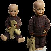 """20,47"""" Antique Doll Kley & Hahn 158-12 Hertel, Schwab & Co."""