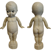 """Great American Kewpie vintage 1900 in composition doll 15"""" tall"""