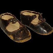 """Original """"BRU Jne PARIS"""" Doll Shoes size 6 ( 3,26 inch )"""