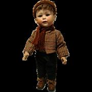 """Antique Doll Cuno & Otto Dressel Simon & Halbig 19"""" inch 1914 head 10 model 6"""