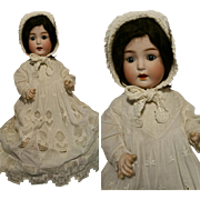 """25"""" Rare Antique Doll Made in Germany marked """" E.St.P"""" 23/11 head bisque perfect condition 64 cm"""