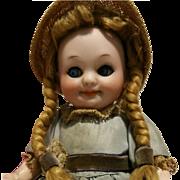 "Deliciuos Antique Doll Armand Marseille 323 A11/0M ""Googly""  7,09"" Toddler Body 18 cm"
