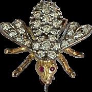 Rosenthal Diamond Bee Pin