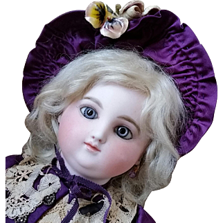 Early Round-Face Steiner French Bebe Size One Remarkably Royal and Rare!  Layaway - Thank You K!