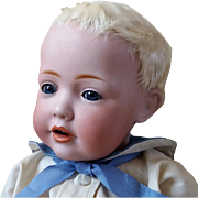 Sweetest Kestner JDK Hilda as a Baby Boy Cabinet Size 12 Inch So Irresistible