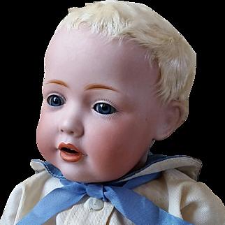 Sweetest Kestner JDK Hilda as a Baby Boy Cabinet Size 12 Inch So Irresistible