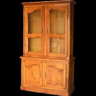 Louis-XV-style  Cherry Bookcase
