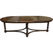 19th century French Oval Dining Table