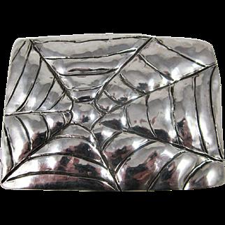 Sterling Silver Hand Made Belt Buckle