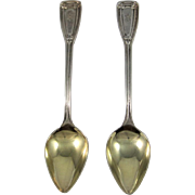 Tiffany Sterling Silver Grapefruit Spoons