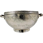Sterling Silver Family Gift Bowl