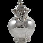 Scotish Sterling Silver Hot Water Jug