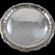 Tiffany Sterling Silver Round Tray