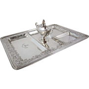Black, Starr & Frost Sterling Silver Smoking  Tray