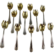 Sterling Silver Ice Cream Forks