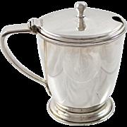 Tiffany Sterling Silver Mustard Pot