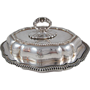 Tiffany Silver Plated Vegetable Dish