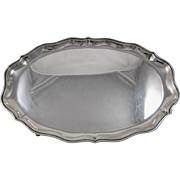 Black, Starr & Frost Sterling Silver Oval Tray