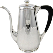 Randahl Shop Sterling Silver Coffee Pot
