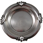 Set of 4 Sterling Silver Coasters