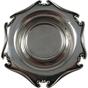 Set of 6 Sterling Silver Coasters