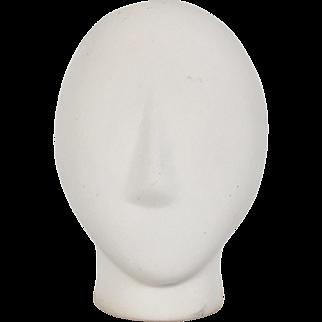 Modernist Cycladic Stone Head Sculpture