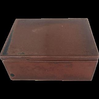 Dansk Niels Refsgaard Ceramic Stoneware Box 70s