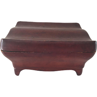 Leather Hand Tooled Box