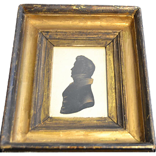 Silhouette of a Gentleman,19th Century